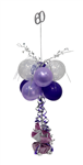 Balloon Arrangement 60Th Birthday Girl Tall Topiary With Pick 148