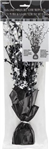 Balloon Weight Glitz Centrepiece Black  Silver