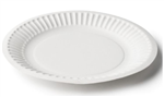 Capri Paper Plate Uncoated 6 150mm 50 Pack