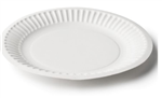 Capri Paper Plate Uncoated 9 230mm 50 Pack