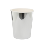 Five Star Paper Cup Metallic Silver 260ml 10 Pack