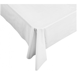 Five Star Table Cover Rectangular White