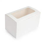 Mondo Window 2 Cup Cake Box Rect 4 X 7 X 4
