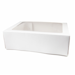 Window Cake Box Rectangle 16X20x6